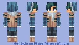 Frozen Milk Minecraft Skin