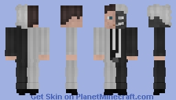 Harvey Dent / Two Face V2 Minecraft Skin
