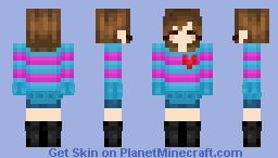 Frisk Minecraft Skin
