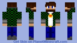 Yuckbug ~ ME Minecraft Skin