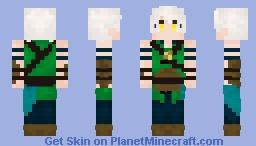 Ash (Thrilling Intent) Minecraft Skin