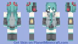 Hatsune Miku ~ Vocaloid Minecraft Skin