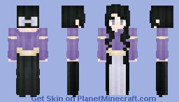 ⊰ French Lilac Child ⊱ Minecraft