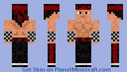 Liu Kang - MK Minecraft Skin
