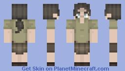 Marguerite Baker Resident Evil 7 Minecraft Skin