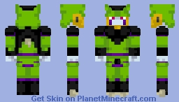 Perfect Cell Minecraft Skin