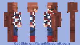 ▒REDBEARD▒ {POPREEL THANK U} Minecraft Skin