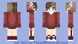 st -x- avablxnc Minecraft Skin