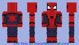 Spiderman Homecoming / FINAL PRODUCT Minecraft Skin