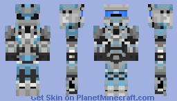 Halo 4 / Spartan WARRIOR armor Minecraft Skin