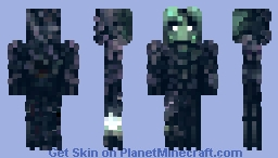 The Neglected Drone / 'Jack' Minecraft Skin