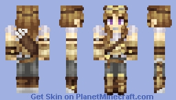 ♦ℜivanna16♦ Vera Nightwing (Plus art and a render!!) Minecraft