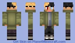 XXXTENTACION Minecraft Skin