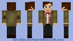 Eleventh Doctor - Season 5 RED Skin