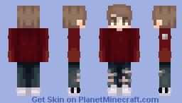 Ð≡Χ // i'll be your sinner in secret Minecraft Skin