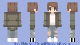 Ð≡Χ // aesthetic grump Minecraft Skin