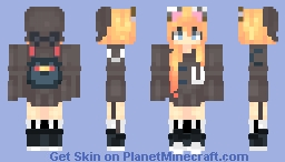 Chaotic United *alycat* offical school skin Minecraft Skin