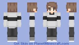 𝓓𝓔𝓧 // striped realness Minecraft Skin