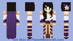 ⊰ Purple Noble Woman ⊱ Minecraft Skin
