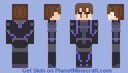 Sword Art Online Ordinal Scale: Eiji Minecraft Skin