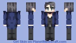 *Overly Done Jacket Flip* Minecraft Skin