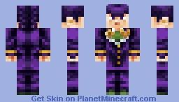 Josuke Higashikata Minecraft Skin