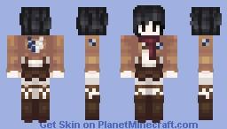 Mikasa Minecraft