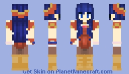 Lilina ~ Fire Emblem: The Binding Blade Minecraft