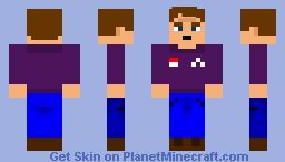 Michael S. Schmidt (FNAF:SL) Minecraft Skin
