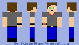 My Skin:8bitnightmarefox Minecraft Skin