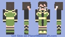 Sword Art Online Ordinal Scale: Sinon Minecraft Skin