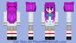 Hisako (Pheonix Drop High Oc) Minecraft Skin
