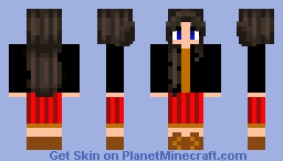 Awesome Girl Minecraft Skin