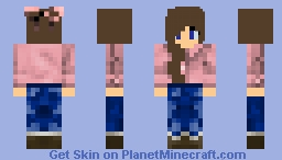 Teenage Girl Minecraft