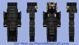 Black Samurai 2 Minecraft Skin