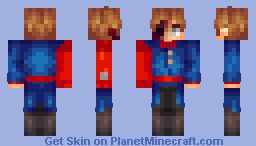 Red Leader/Future Tord // Eddsworld Minecraft Skin
