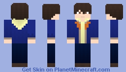 Banagher Links (Mobile Suit Gundam: RE 0096) Minecraft Skin