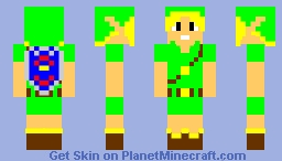 My own Link Skin (Majora's Mask) Minecraft Skin