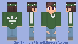 Green Adiddas Boy Minecraft Skin
