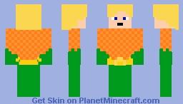 Aquaman [Justice League] Minecraft Skin