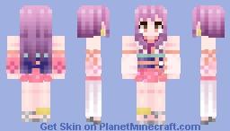 Asyuku [Namu Amida Butsu!] Minecraft Skin