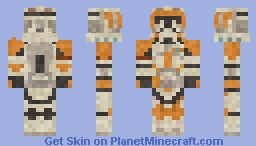 Commander Cody MASTERPIECE EDITION Minecraft Skin