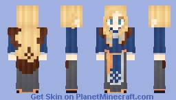 ⊰ Viking Blond Lady ⊱ Minecraft