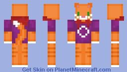Tabby Cat Minecraft Skin