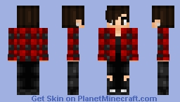 Random Person #7 - JaxSkins - Series 2 Minecraft
