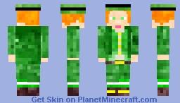 Happy St. Patrick's Day Minecraft Skin