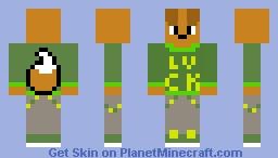 Jaden The Puppy In St. Patricks Day Minecraft Skin