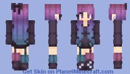 Galactic Gamer Minecraft Skin