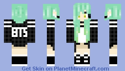 BTS A.R.M.Y. Minecraft Skin