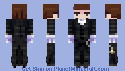 ╞Hello Sir╩ (Steve Arms in Desc now) Minecraft Skin